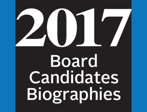 2017 Board Candidates Bios